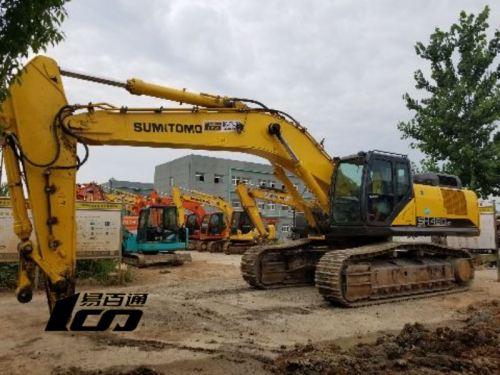 武汉市出售转让二手2018年住友SH480HD-6挖掘机