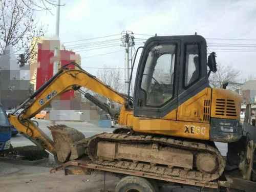 山东出售转让二手8000小时2009年徐工XE60挖掘机