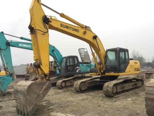 四川出售转让二手7068小时2011年住友SH240挖掘机