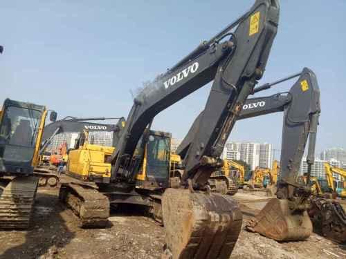 江苏出售转让二手8686小时2010年沃尔沃EC210B挖掘机