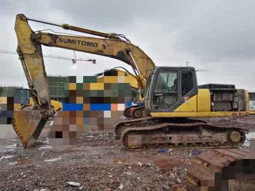 四川出售转让二手7000小时2008年住友SH240挖掘机