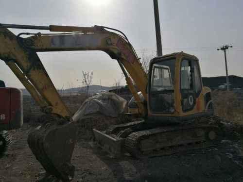 黑龙江出售转让二手5000小时2011年玉柴YC85挖掘机