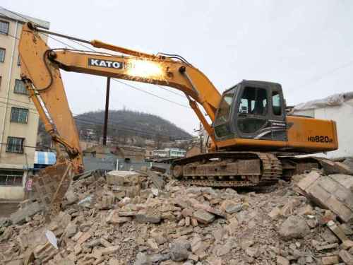 陕西出售转让二手1500小时2014年加藤HD820R挖掘机