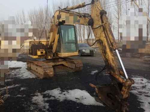 辽宁出售转让二手11000小时2009年小松PC60挖掘机