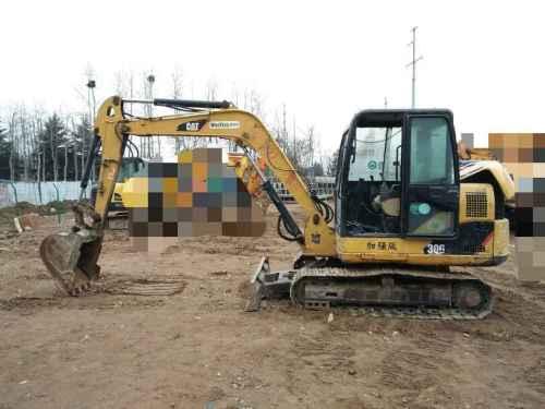 山东出售转让二手4182小时2011年卡特彼勒306挖掘机