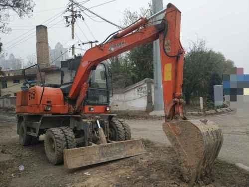 山西出售转让二手2000小时2014年信杰WYL70挖掘机