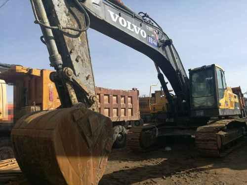 内蒙古出售转让二手13000小时2012年沃尔沃EC380DL挖掘机