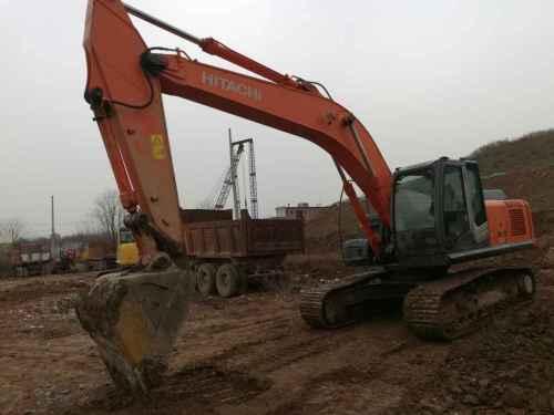 陕西出售转让二手5000小时2010年日立ZX240LC挖掘机