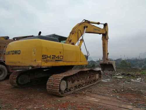 四川出售转让二手10000小时2010年住友SH240挖掘机