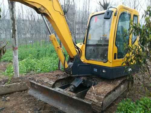 河南出售转让二手5200小时2013年山重建机JCM906D挖掘机