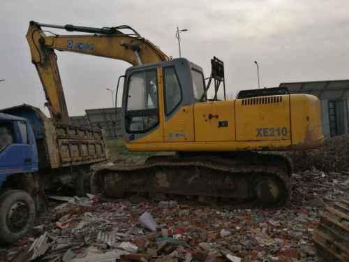 山东出售转让二手9854小时2010年徐工XE210挖掘机