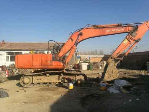 河北出售转让二手15800小时2009年日立ZX200挖掘机