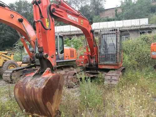 山西出售转让二手6700小时2009年恒特重工HT120A挖掘机
