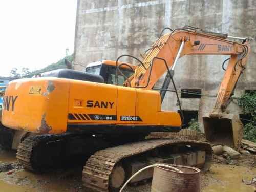 贵州出售转让二手6600小时2010年三一重工SY215C挖掘机