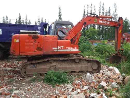 陕西出售转让二手1小时2010年恒特重工HT120A挖掘机