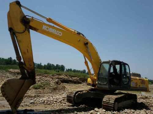 陕西出售转让二手9000小时2011年神钢SK350LC挖掘机