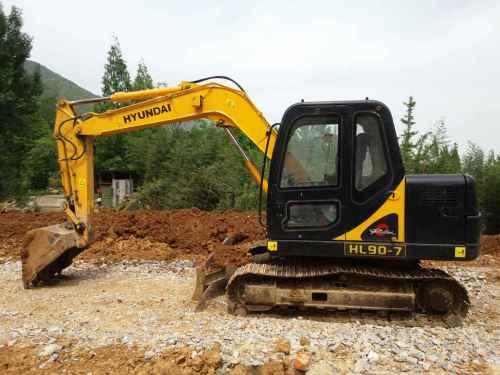 陕西出售转让二手4500小时2009年华力重工HL185挖掘机