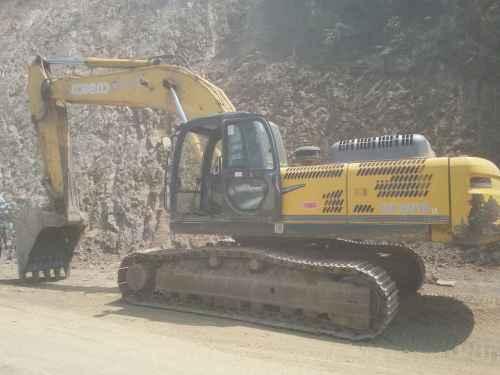 陕西出售转让二手9600小时2011年神钢SK330挖掘机