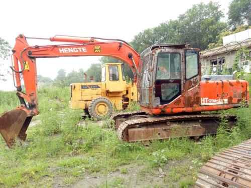 山西出售转让二手8000小时2009年恒特重工HT120A挖掘机