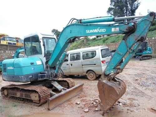 云南出售转让二手6000小时2010年山河智能SWE60N9挖掘机