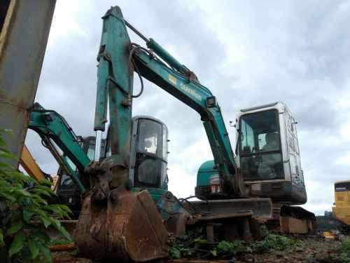 云南出售转让二手4000小时2013年山河智能SWE50N9挖掘机