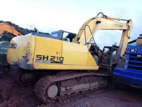 云南出售转让二手8723小时2010年住友SH210挖掘机