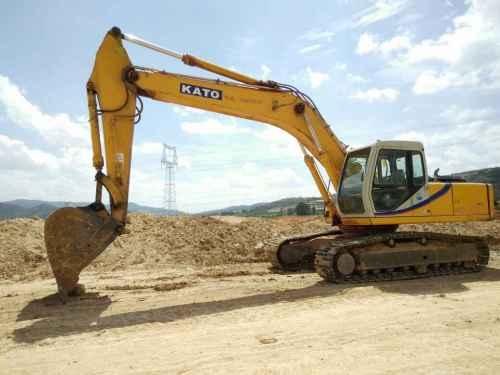 云南出售转让二手11500小时2009年加藤HD1023II挖掘机