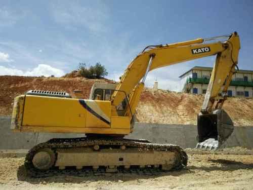 云南出售转让二手11200小时2009年加藤HD820II挖掘机