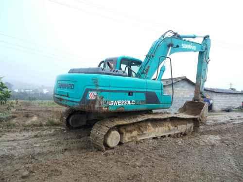 云南出售转让二手4022小时2011年山河智能SWE230挖掘机