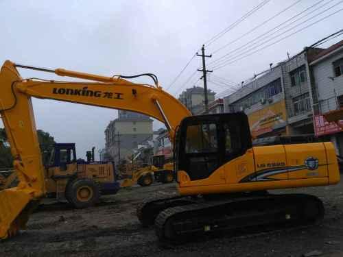 江西出售转让二手6000小时2012年龙工LG6225挖掘机