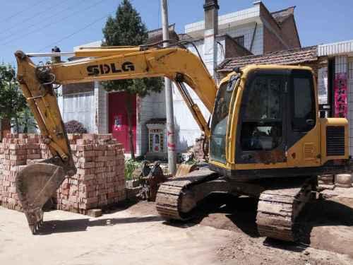 陕西出售转让二手7800小时2012年临工LG685挖掘机
