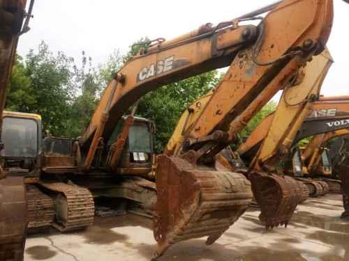 陕西出售转让二手9000小时2009年凯斯CX360B挖掘机
