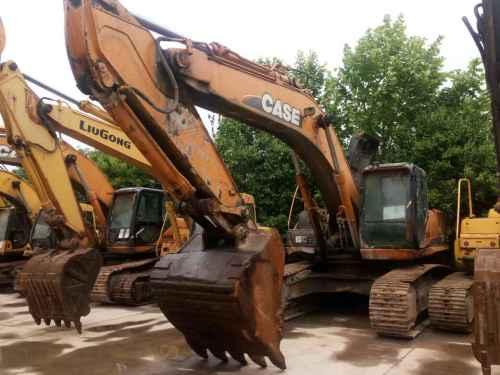 陕西出售转让二手9000小时2008年凯斯CX360B挖掘机