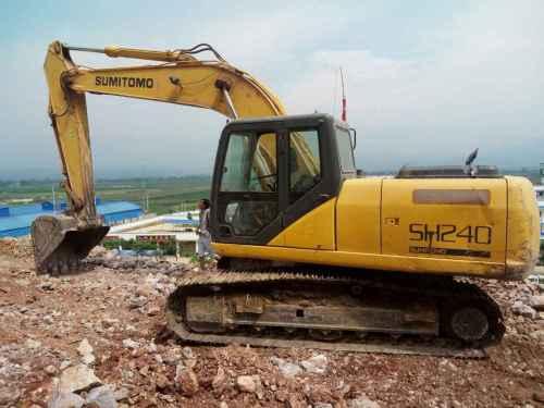 云南出售转让二手6285小时2008年住友SH210挖掘机