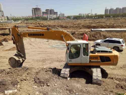 山西出售转让二手860小时2012年利勃海尔R926挖掘机