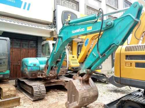 云南出售转让二手5630小时2013年山河智能SWE80N9挖掘机