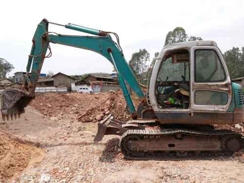 云南出售转让二手9000小时2010年山河智能SWE80H挖掘机