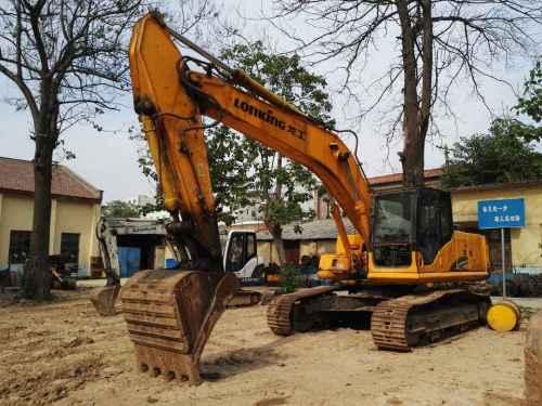 陕西出售转让二手2500小时2012年龙工LG6235挖掘机