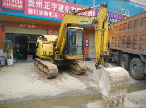 贵州出售转让二手11846小时2008年小松PC60挖掘机