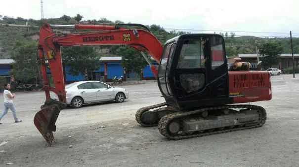 山西出售转让二手1648小时2010年恒特重工HT80挖掘机