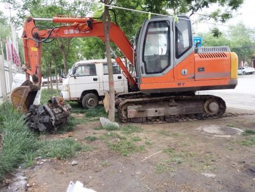 山西出售转让二手800小时2010年福临机械WY150挖掘机