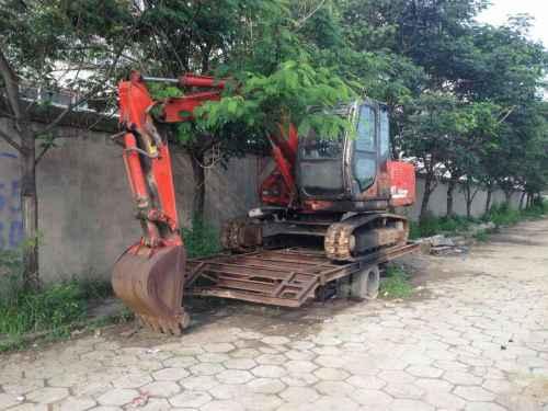 山西出售转让二手2000小时2009年恒特重工HT80挖掘机