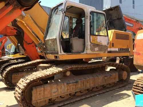 陕西出售转让二手9000小时2008年利勃海尔944挖掘机
