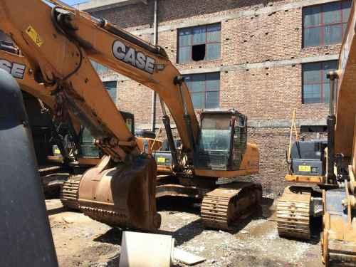 陕西出售转让二手4000小时2012年凯斯CX240B挖掘机