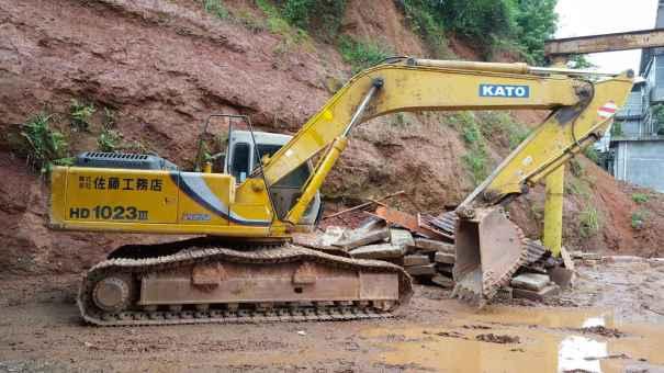 江西出售转让二手9000小时2011年加藤HD1023III挖掘机