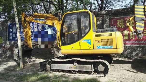 山西出售转让二手15小时2014年愚公机械WY85挖掘机