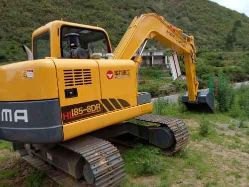 云南出售转让二手21小时2016年华力重工HL185挖掘机