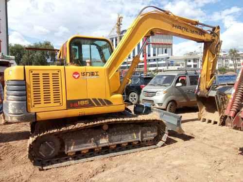 云南出售转让二手1049小时2015年华力重工HL185挖掘机