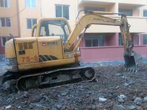 贵州出售转让二手7600小时2011年华力重工HL165挖掘机