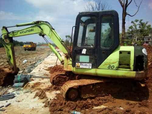 江西出售转让二手16680小时2006年现代R60挖掘机